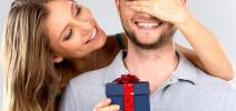 Какой подарок выбрать любимому мужчине
