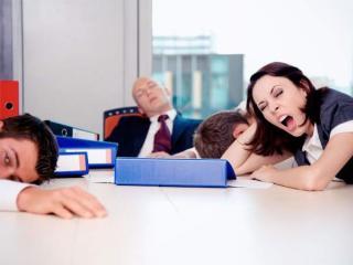 Как не спать на работе