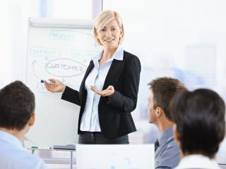 Женщина в мужском бизнесе